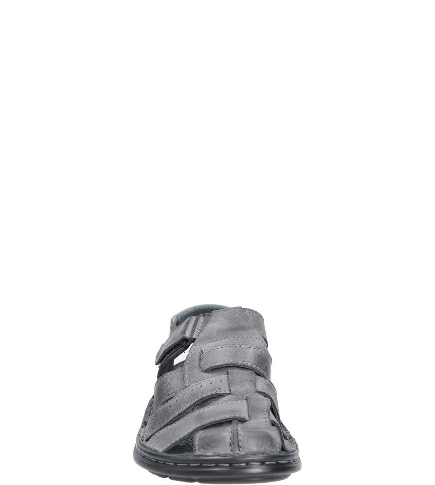 Sandały skórzane na rzep Casu 211 sezon Lato
