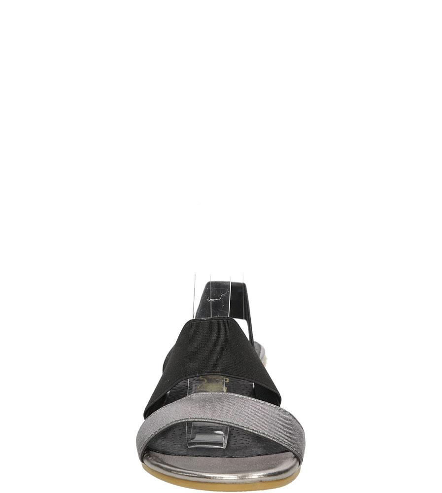 Sandały Jezzi MR1635-5 kolor czarny, stalowy