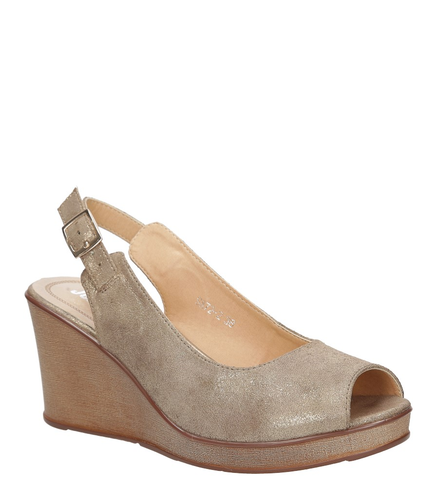 Sandały na koturnie Jezzi SA72-2