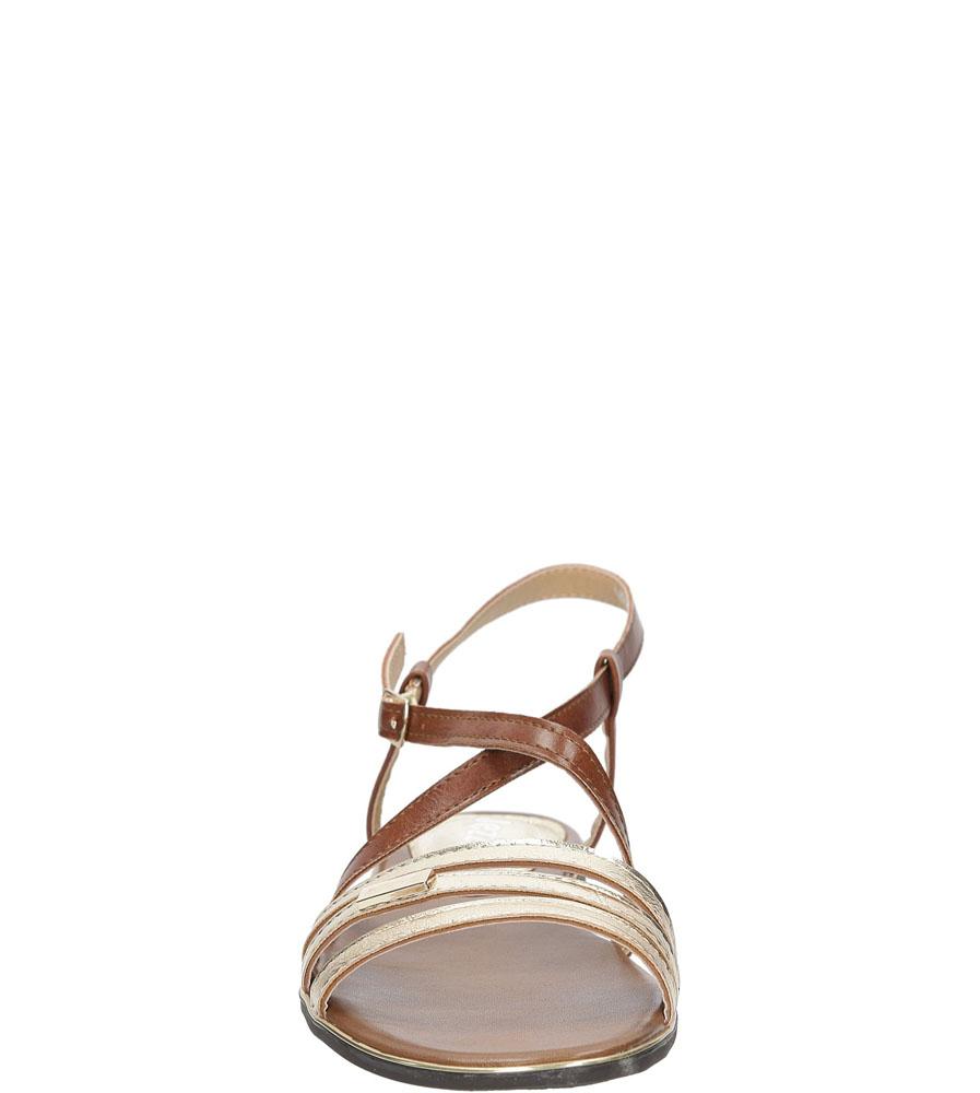 Sandały Jezzi MR1583-9 kolor brązowy, złoty