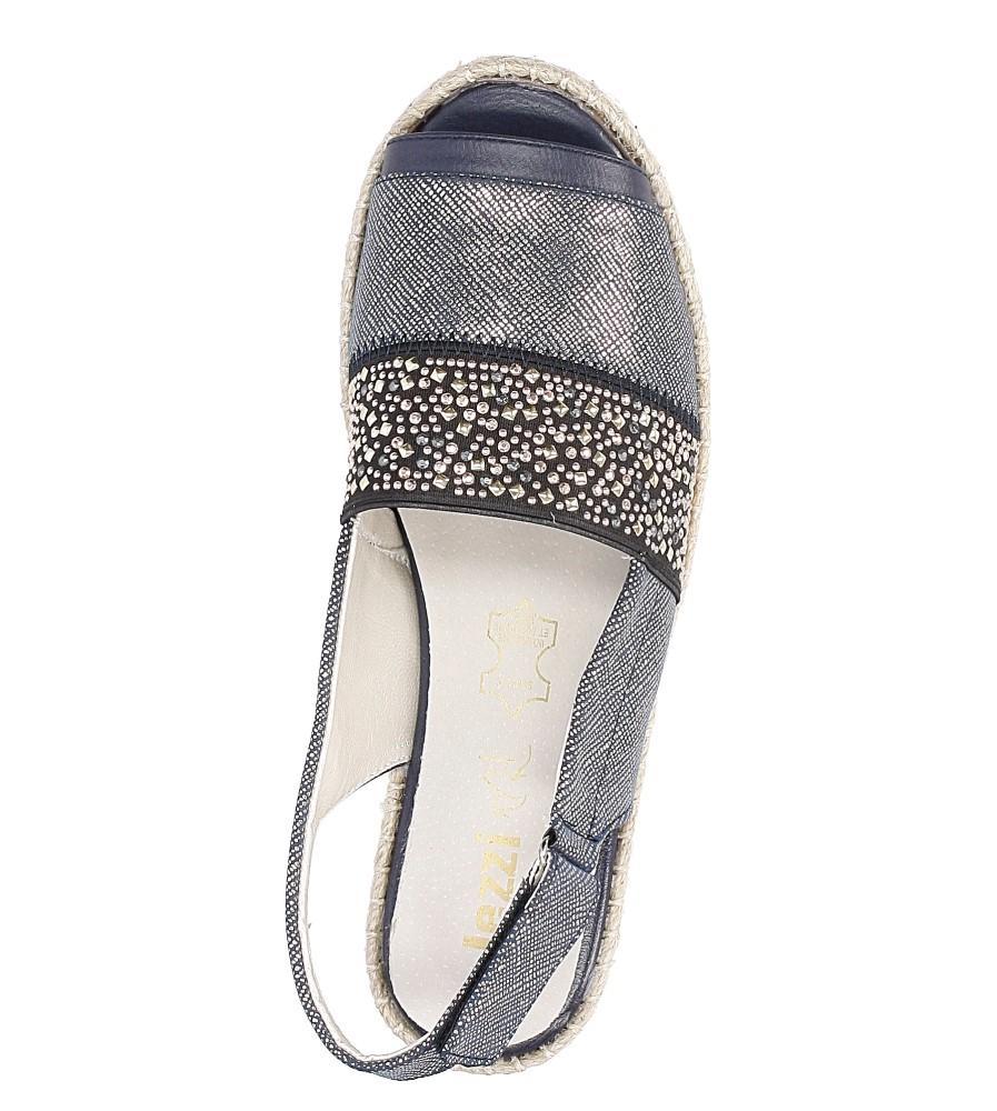 Sandały z cyrkoniami Jezzi MR1631-2 wysokosc_platformy 1 cm