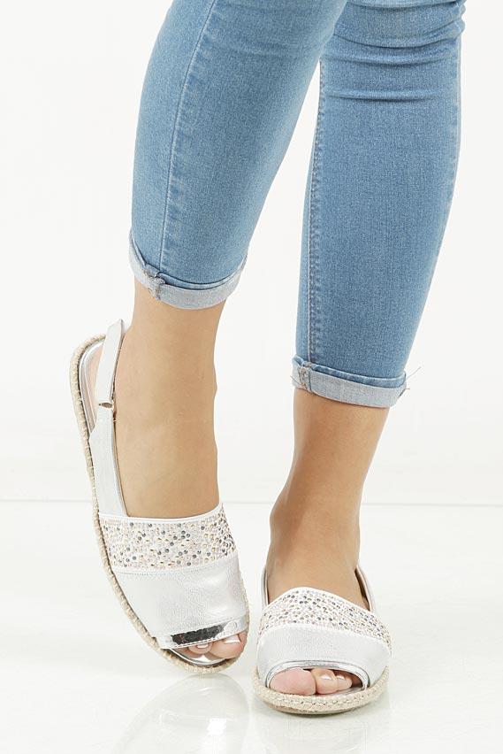 Sandały z cyrkoniami Jezzi MR1631-2
