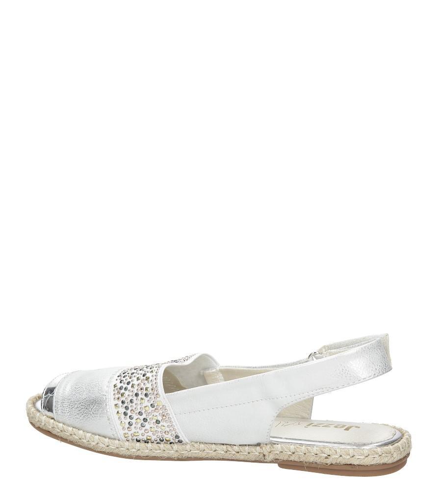 Sandały z cyrkoniami Jezzi MR1631-2 wysokosc_obcasa 2 cm
