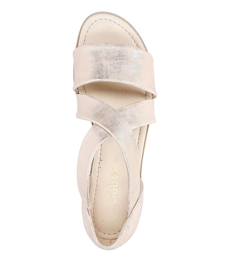 Sandały skórzane Gabor 64.572.64 wysokosc_platformy 1 cm