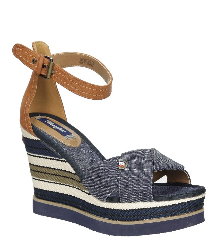 Sandały na koturnie Wrangler Kelly Sunshine WL171662