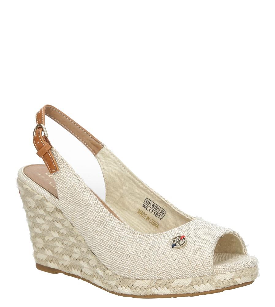 Sandały na koturnie Wrangler Brava WL171612