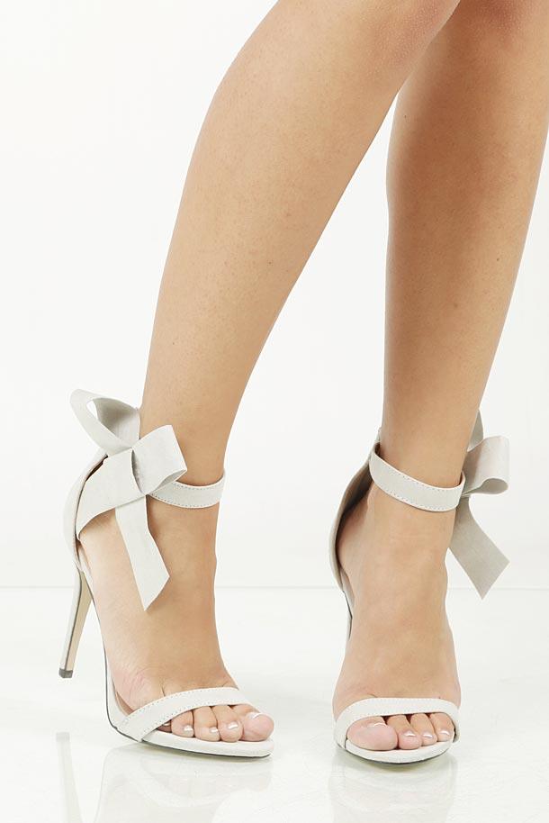 Sandały z kokardą Casu JZ-6340
