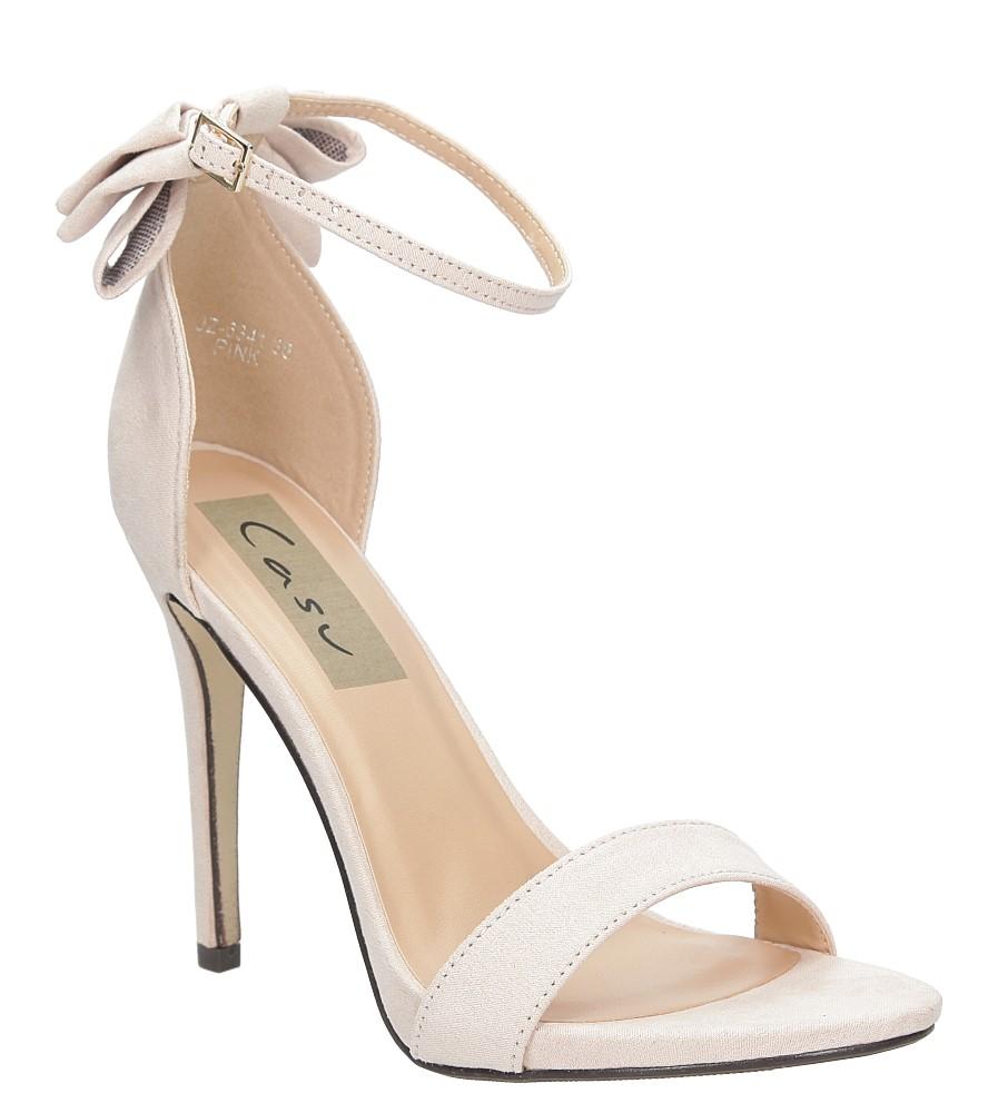 Sandały z kokardą Casu JZ-6341
