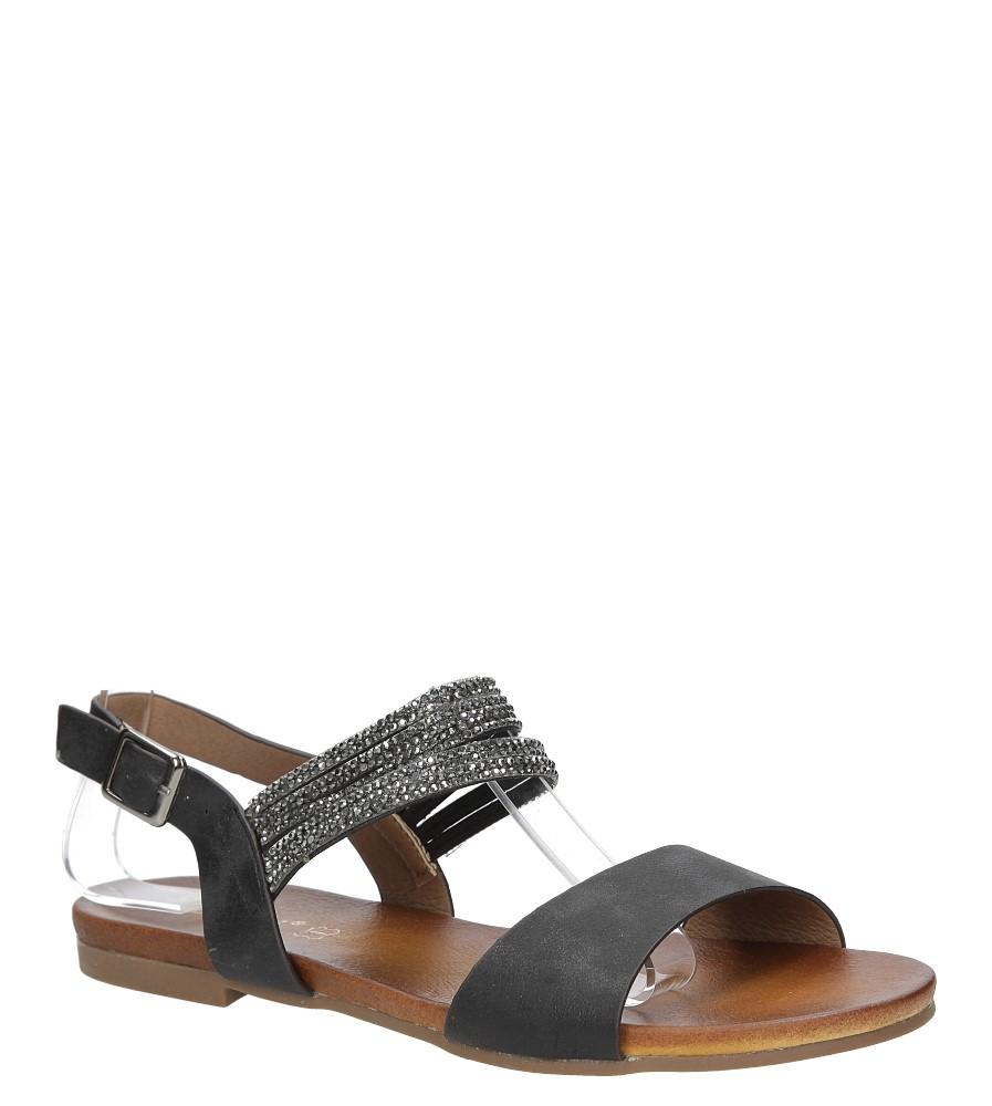 Sandały z cyrkoniami S.Barski 541-3A