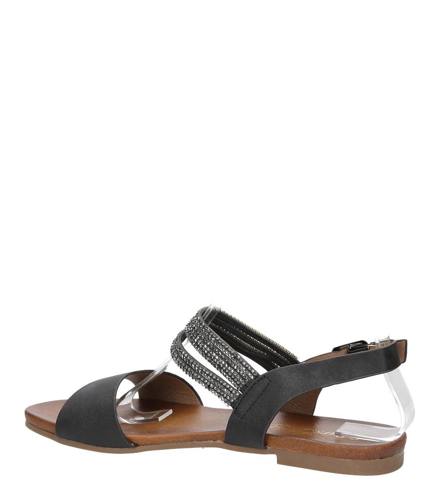Sandały z cyrkoniami S.Barski 541-3A wysokosc_obcasa 2 cm