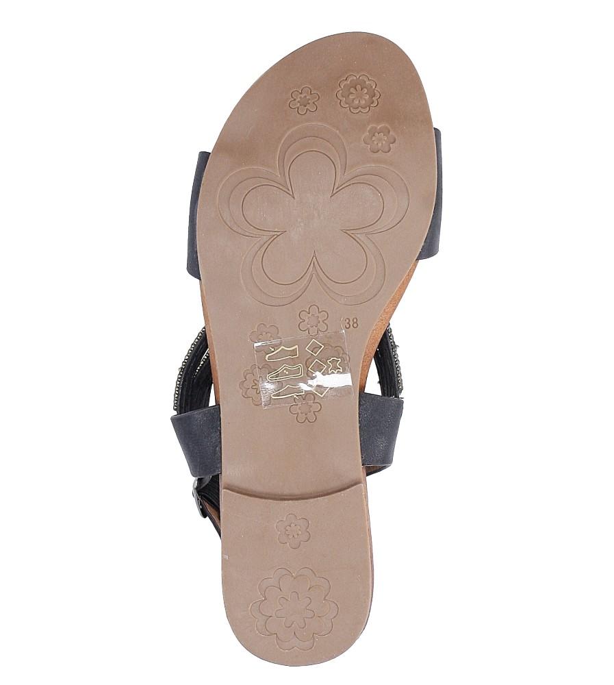 Sandały z cyrkoniami S.Barski 541-3A wys_calkowita_buta 10 cm