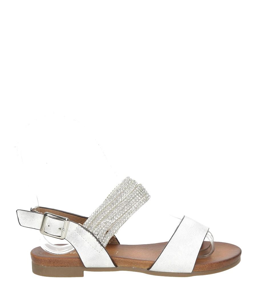 Sandały z cyrkoniami S.Barski 541-3A/DZ