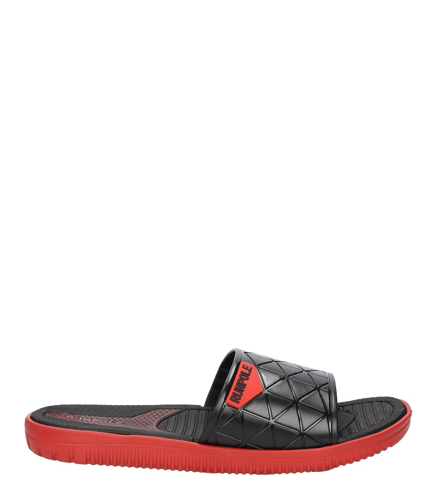 Męskie Klapki Casu E6168B czerwony;;