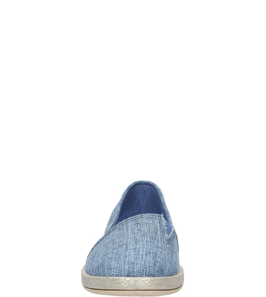 Espadryle Casu AL-2655 kolor niebieski