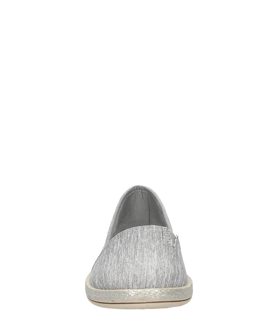 Espadryle Casu AL-2655 kolor szary