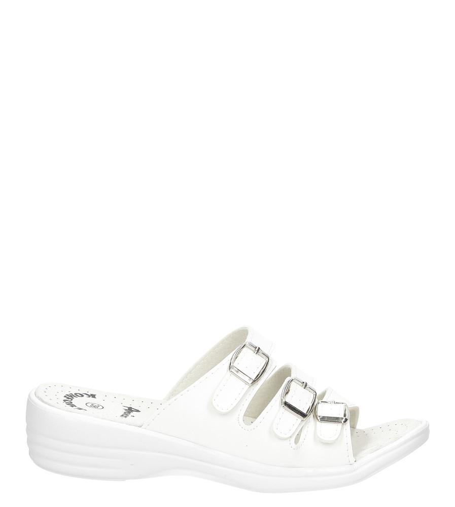 Damskie Klapki American KL-1/2017 biały;;