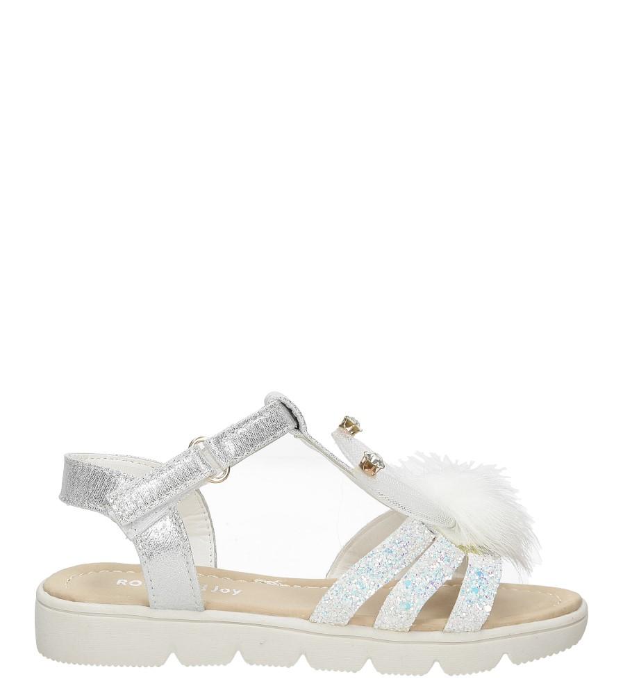 Sandały brokatowe z uszkami Casu 20129-2