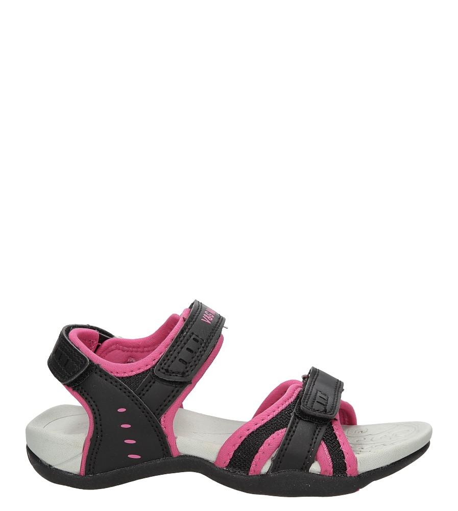 Dziecięce Sandały na rzepy Casu CSD761 czarny;;