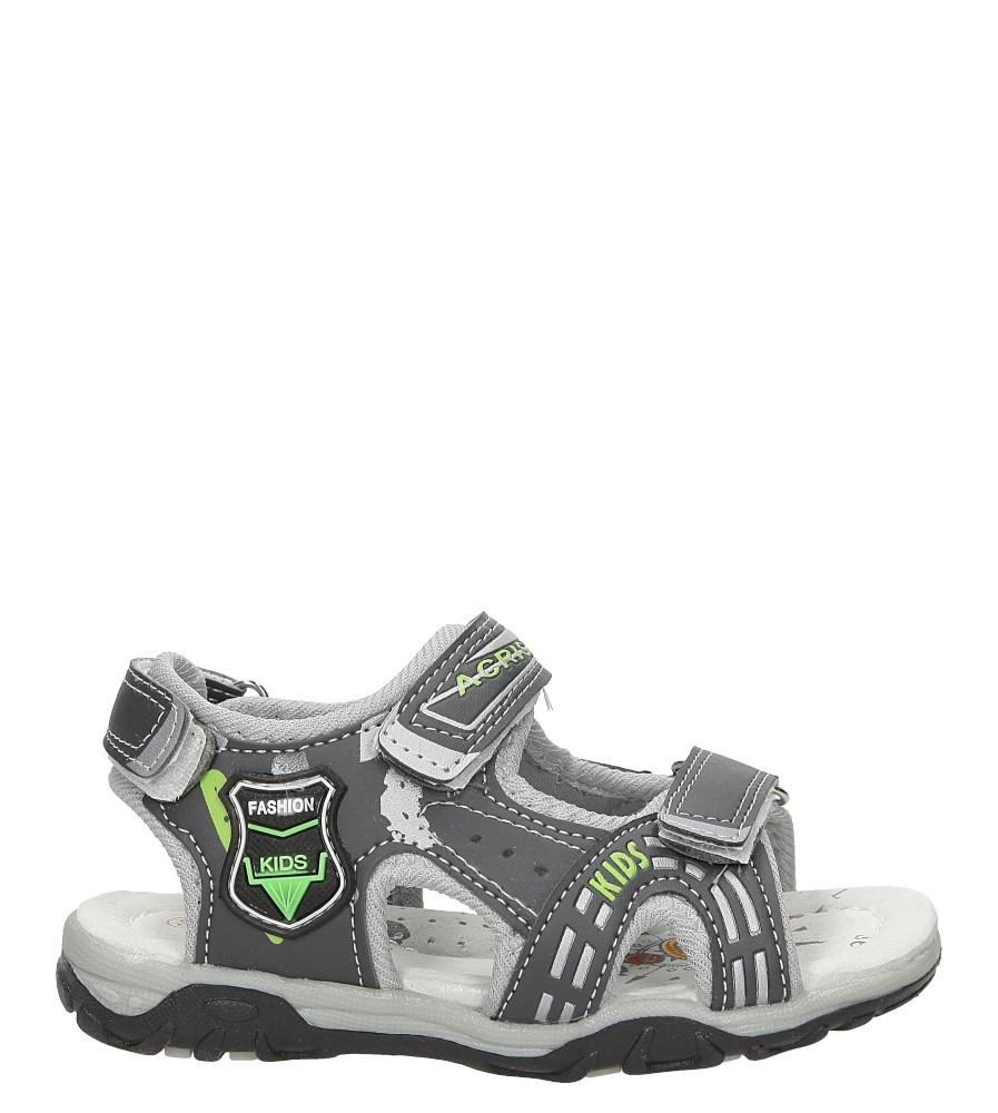 Sandały na rzepy Casu HT593D