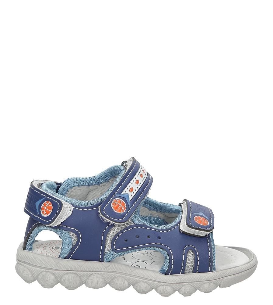 Sandały na rzepy Casu A1299-22