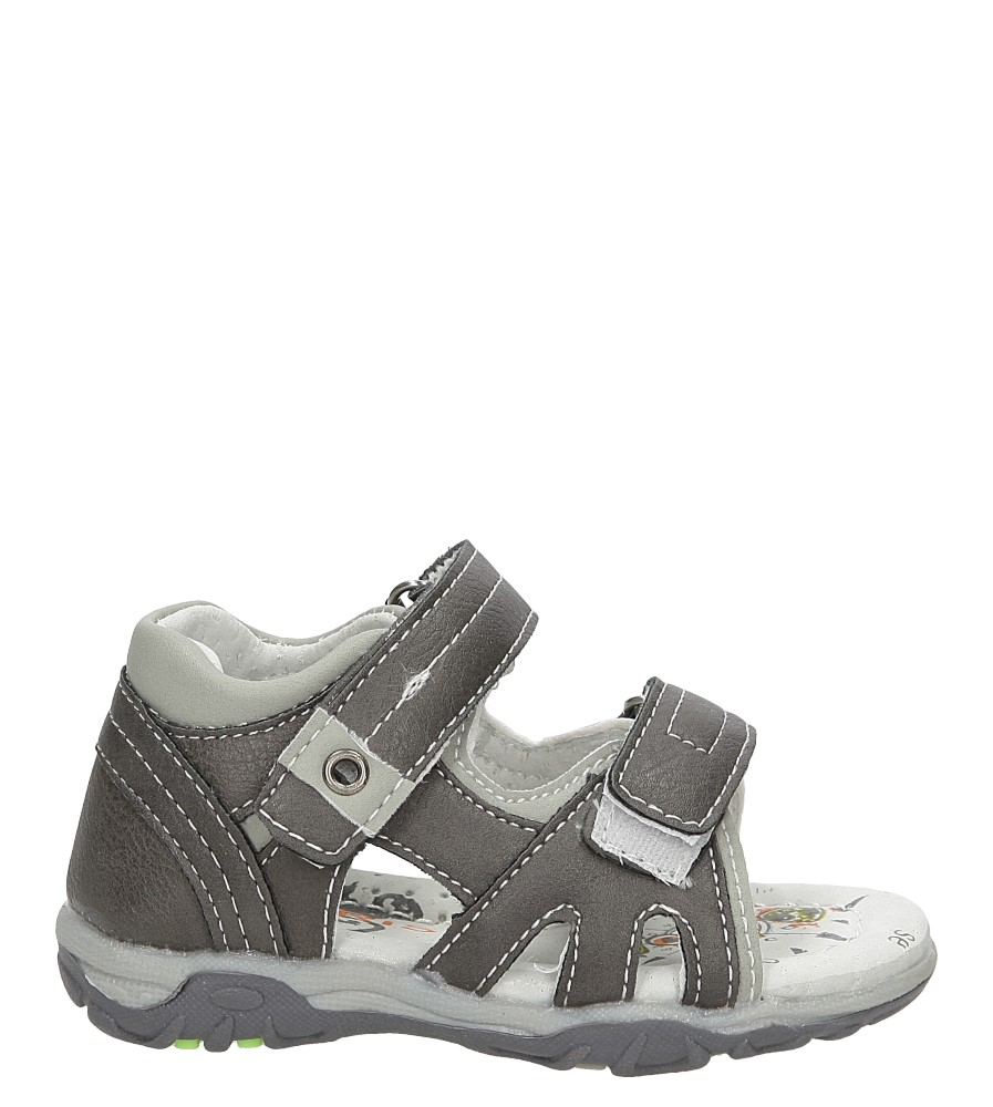 Sandały na rzepy Casu HT598E