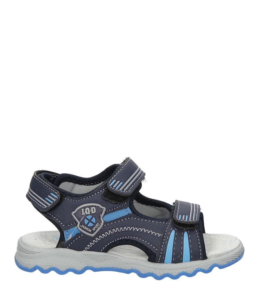 Sandały na rzepy Casu A1334-22