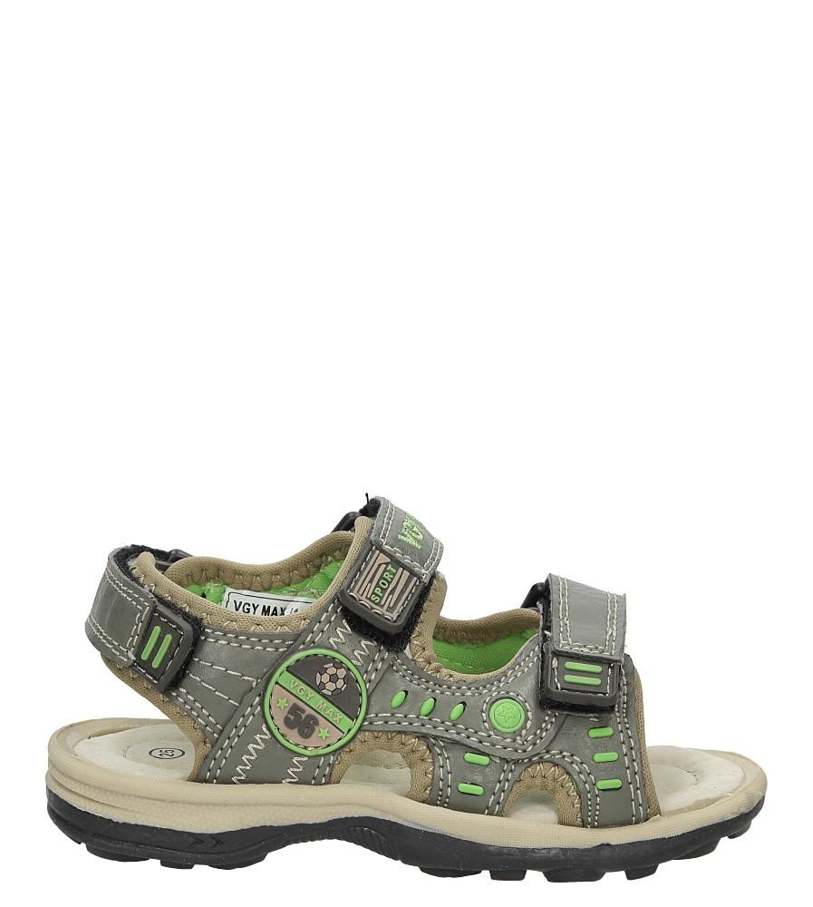 Sandały na rzepy Casu BSD5107