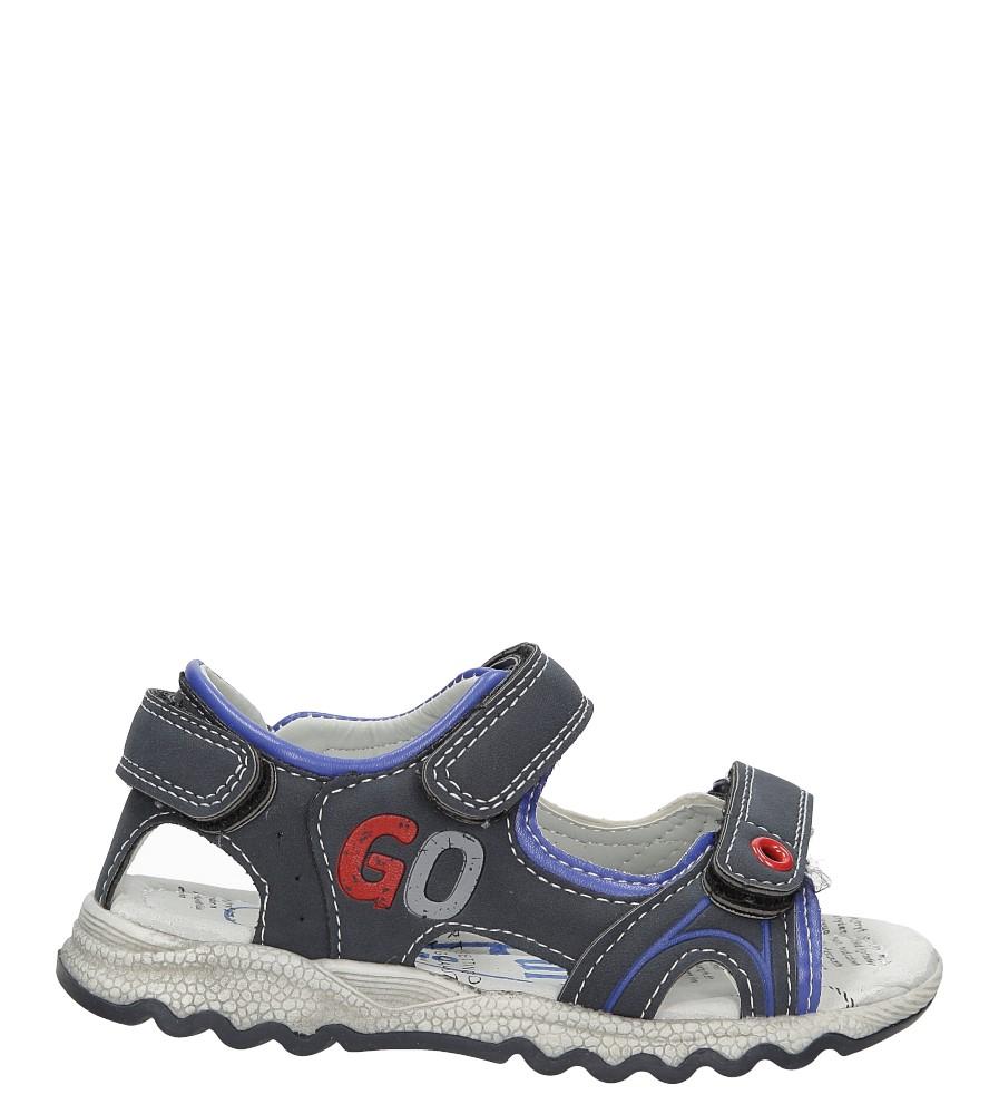 Dziecięce Sandały na rzepy Casu XT717 niebieski;;