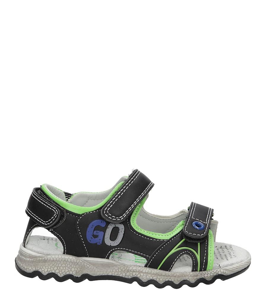Sandały na rzepy Casu XT717