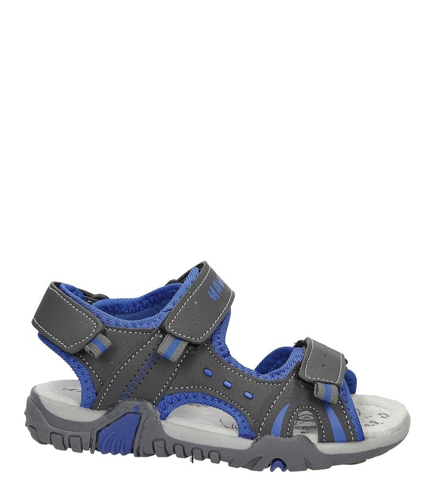 Sandały na rzepy Casu ME05D