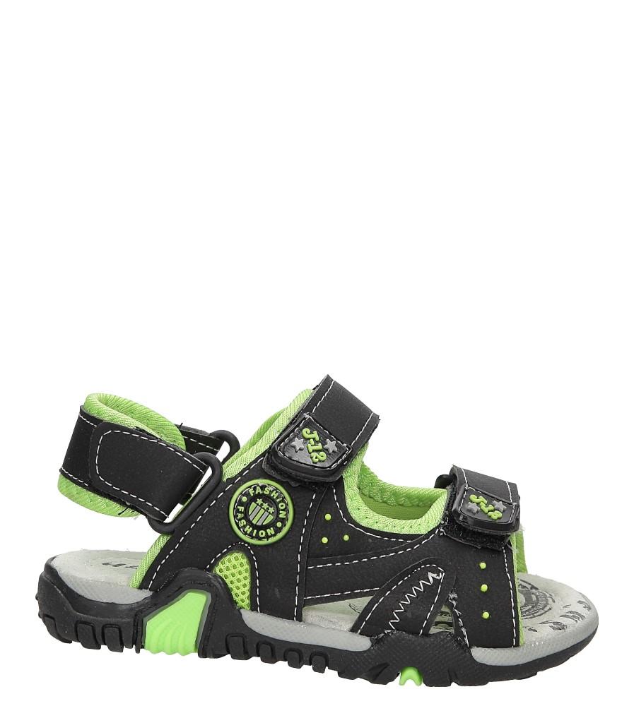 Sandały na rzepy Casu ME06D