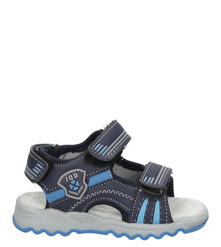 Sandały na rzepy Casu A2784-22