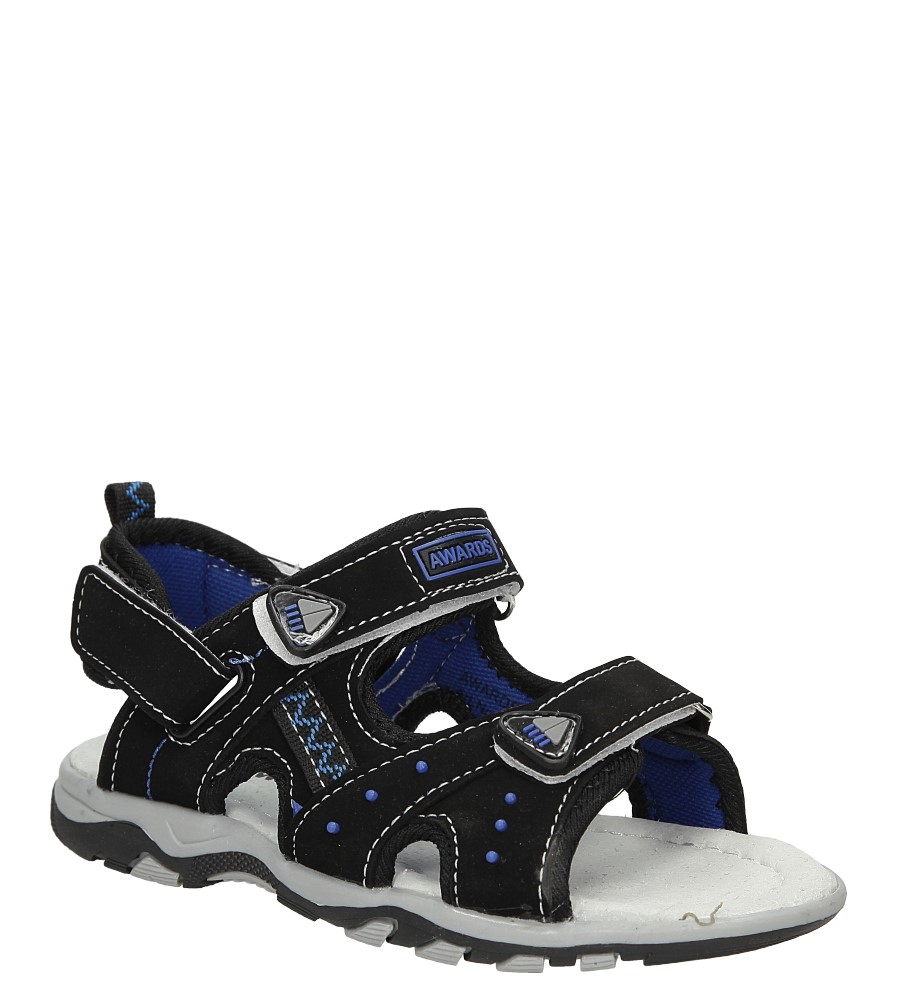 Dziecięce Sandały na rzepy Casu C5101 czarny;;