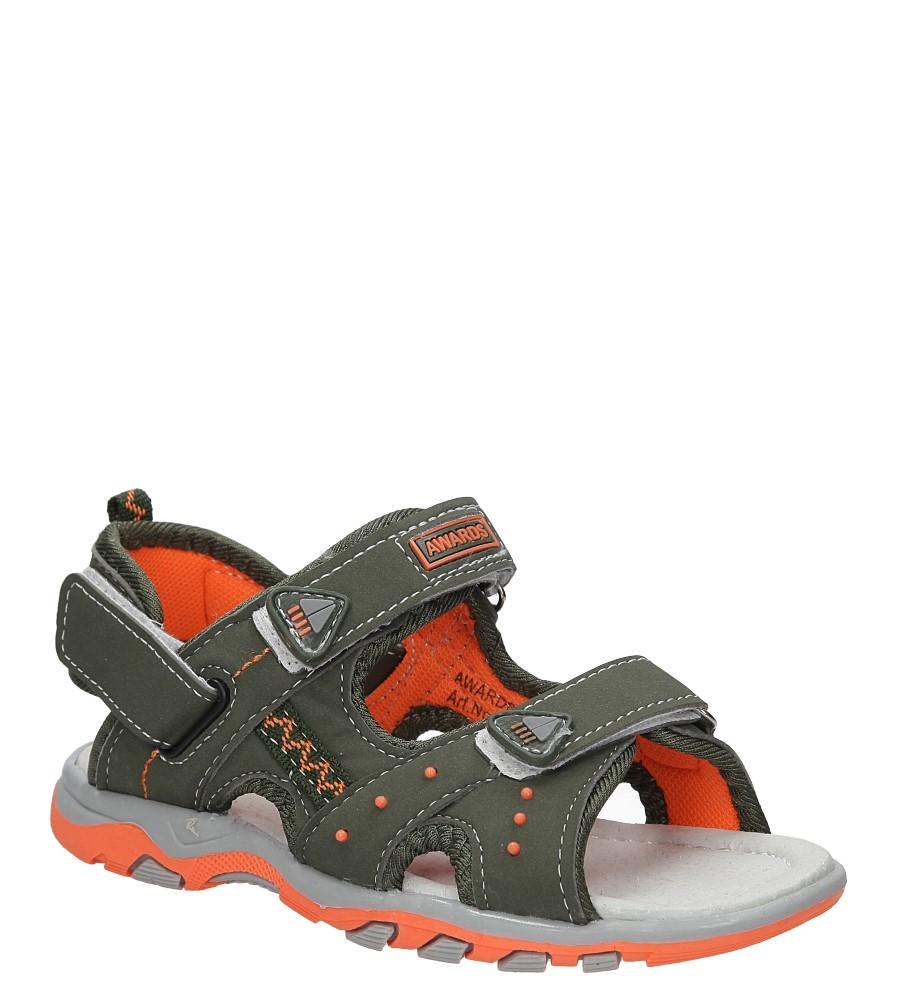 Sandały na rzepy Casu C5101