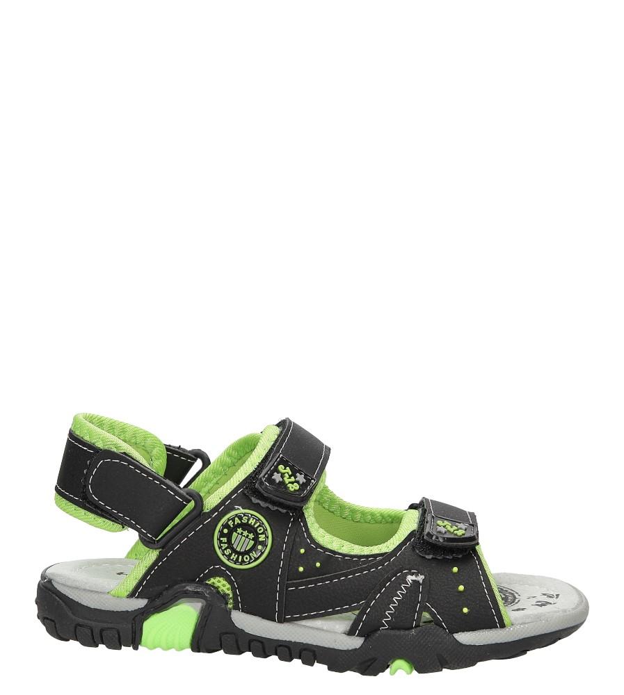 Sandały na rzepy Casu ME06C
