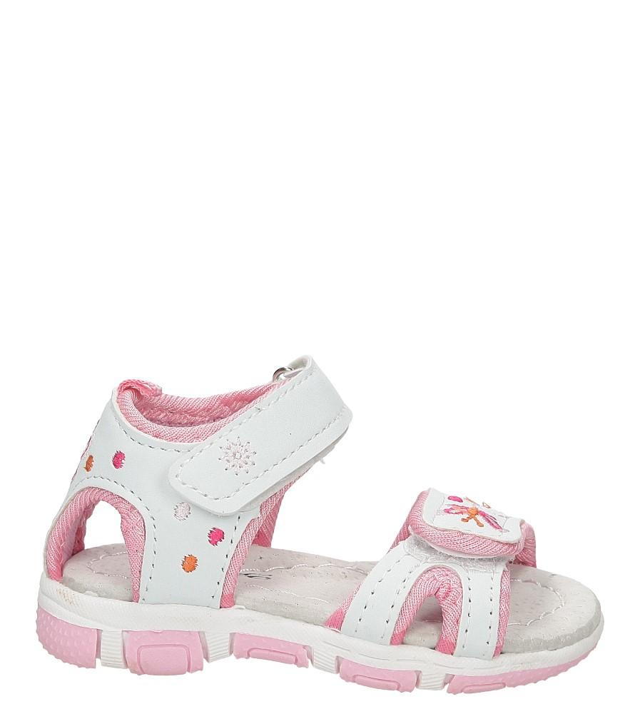 Sandały haftowane na rzepy Casu GF-YF18