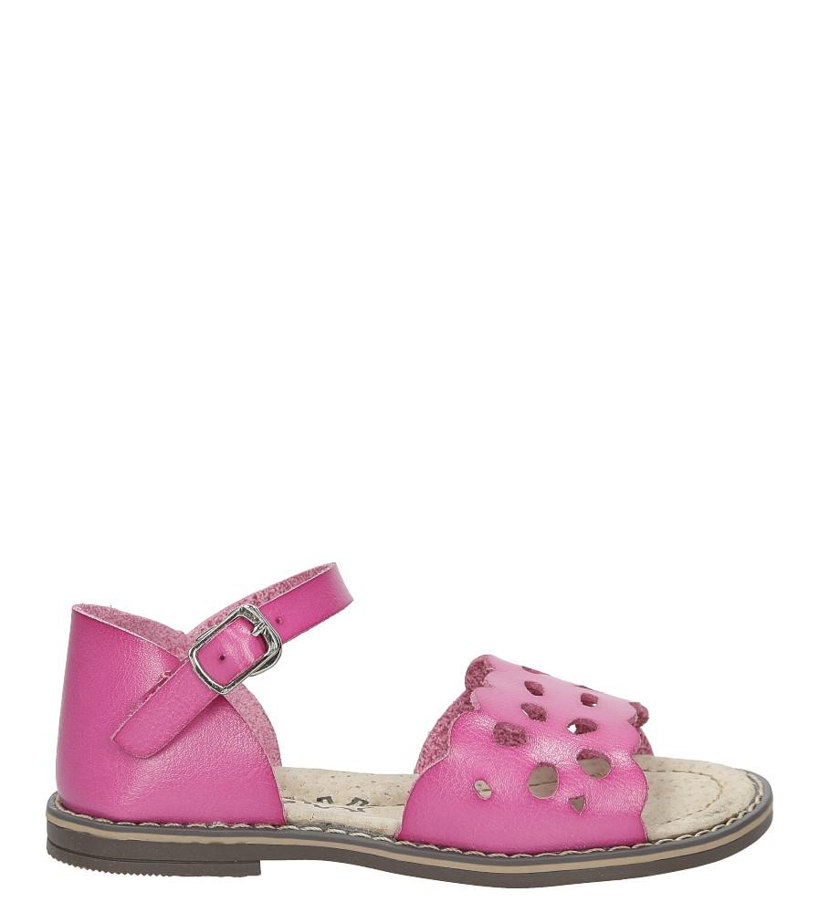 Dziecięce Sandały ażurowe Casu H38 różowy;;
