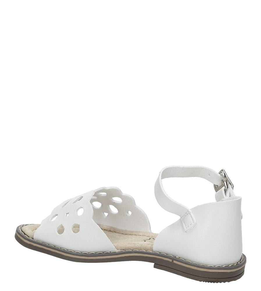 Sandały ażurowe Casu H38 kolor biały