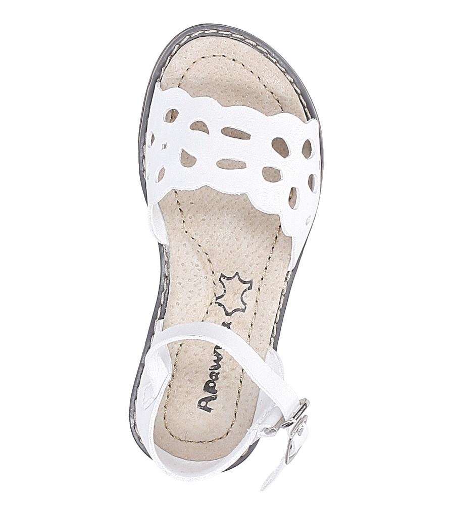 Sandały ażurowe Casu H38 wysokosc_obcasa 1 cm
