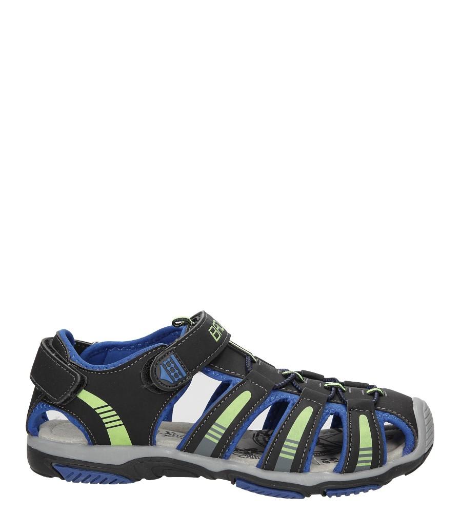 Sandały na rzepy Casu 7SD126