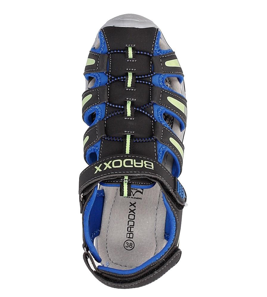 Sandały na rzepy Casu 7SD126 wysokosc_obcasa 2.5 cm