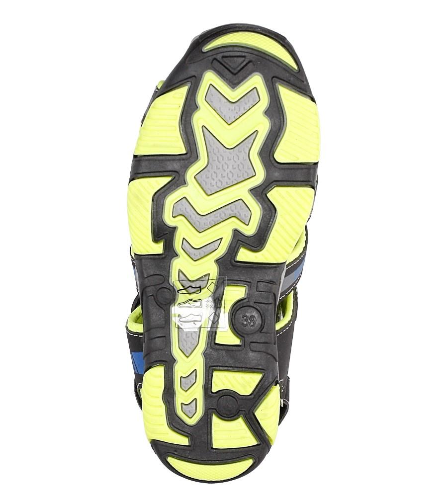 Sandały na rzepy Casu 7SD126 wysokosc_platformy 1 cm