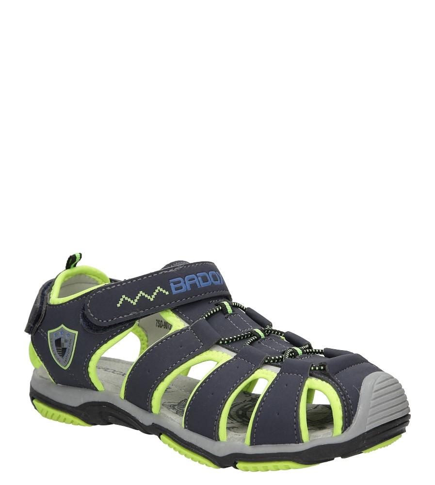 Sandały na rzepy Casu 7SD9072