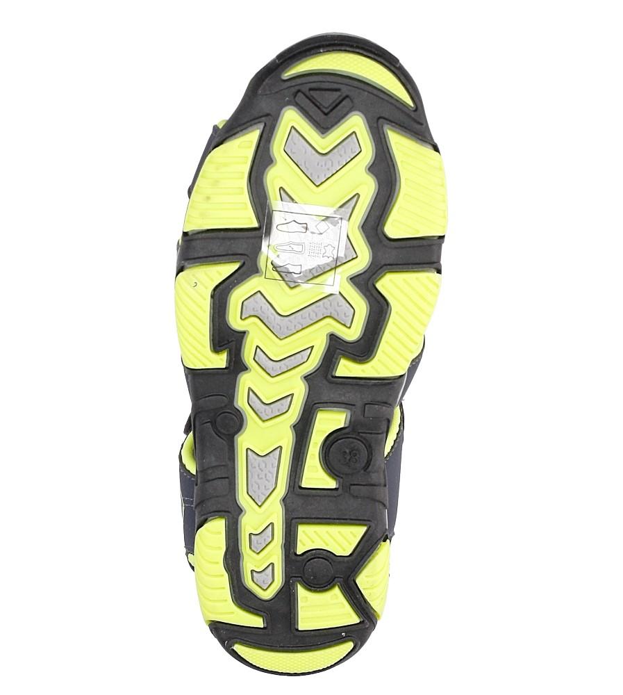 Sandały na rzepy Casu 7SD9072 wysokosc_platformy 1 cm