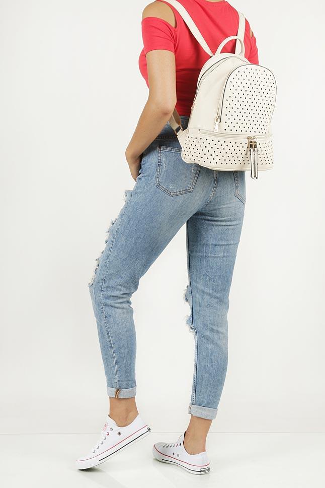 Plecak ażurowy Casu 0998-E2