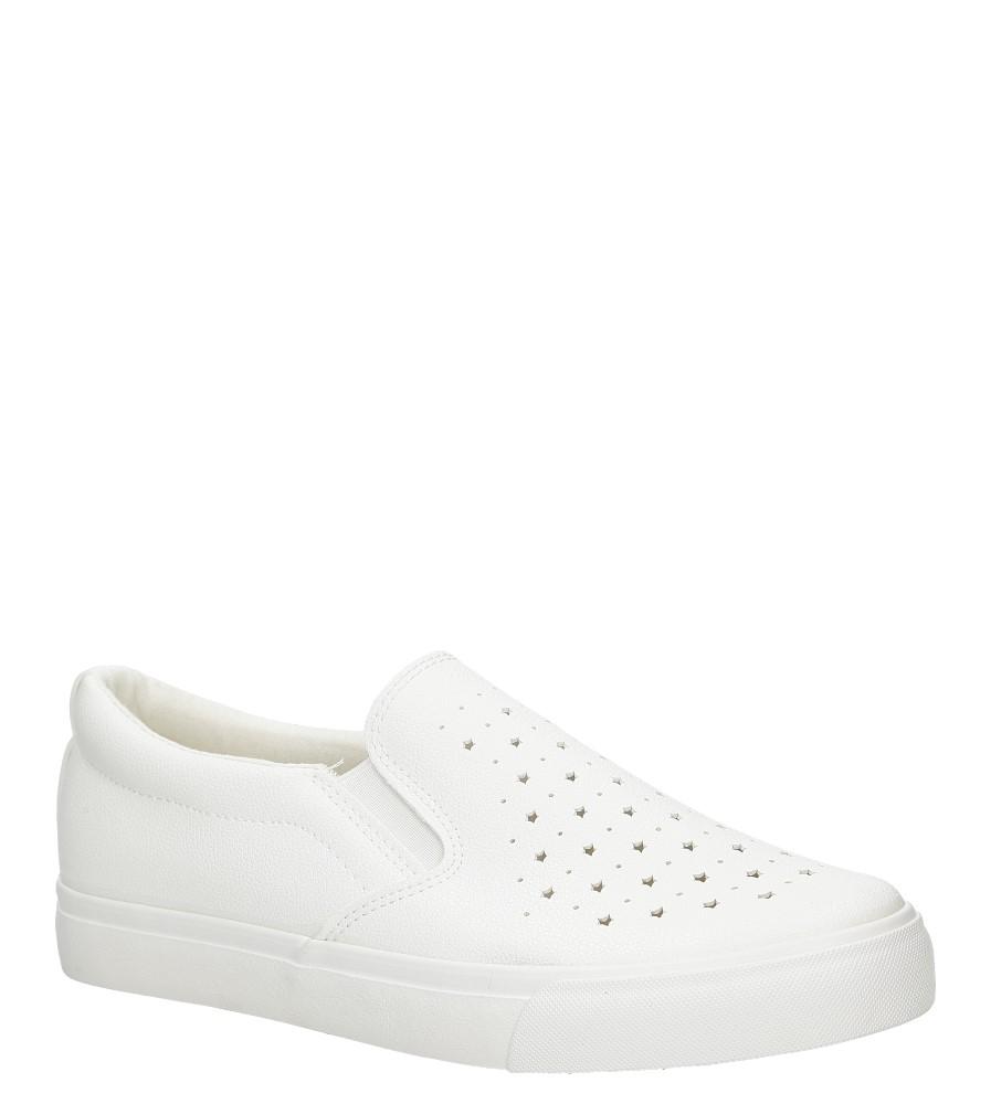 Damskie Slip on Casu NB73P biały;;