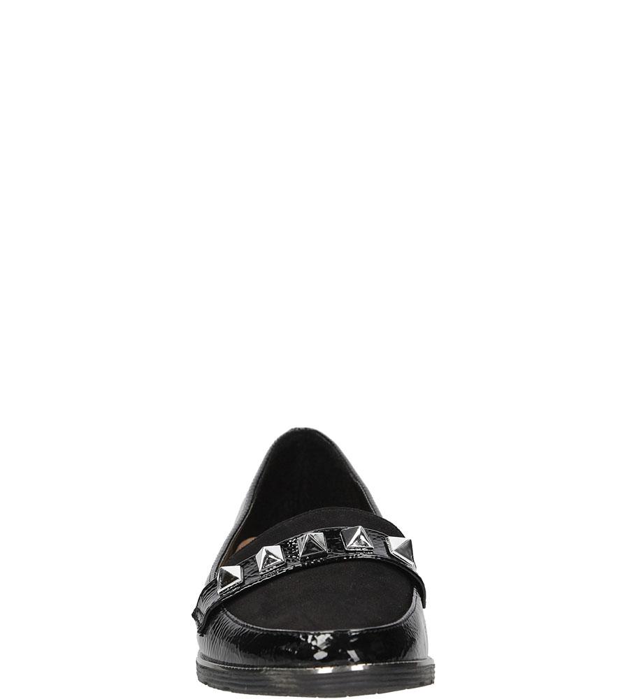 Mokasyny z ćwiekami Casu M-5221 kolor czarny