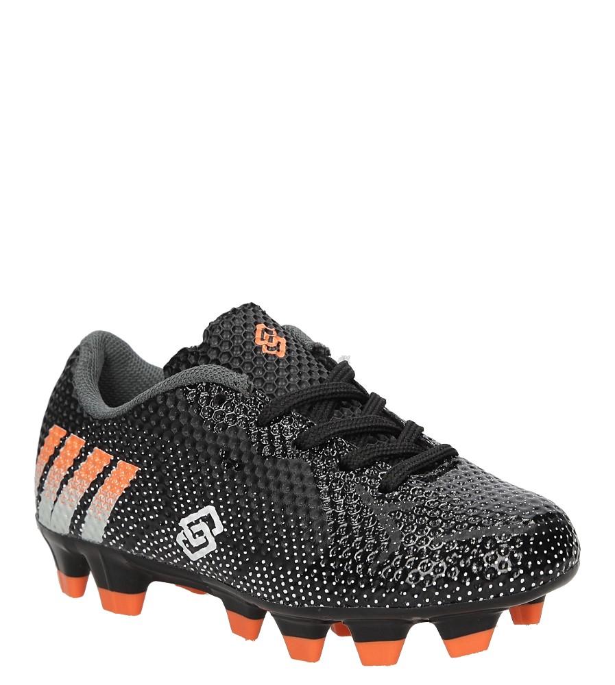 Dziecięce Sportowe Casu D243K czarny;pomarańczowy;