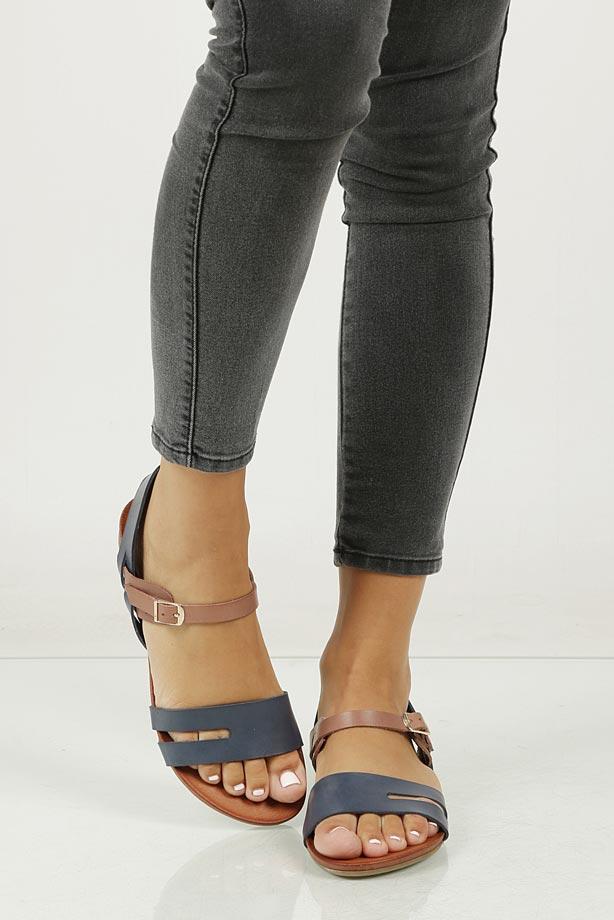 Sandały skórzane Casu 1456 model 1456/111-110