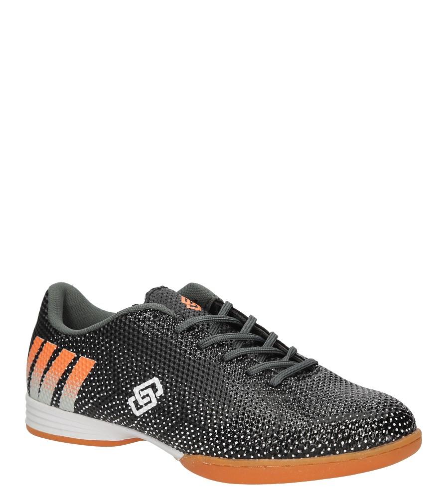 Casu A243H 2 Męskie Buty Sportowe Halówki Czarne Ceny i